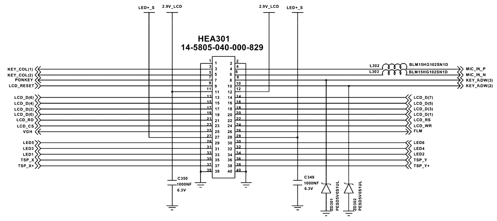 Схема samsung 5230.